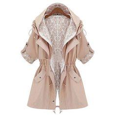 Outerwear Long Parka Jacket/Long Parka coat /winter coat /spring coat /autumn coat /Women jacket