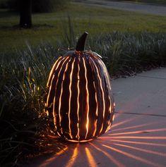 Pumpkin Luminary Display