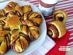 Pão Estrela de Nutella - Amando Cozinhar - Receitas, dicas de culinária, decoração e muito mais!