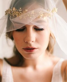 Bridal Hair Accessories by Olga Delice