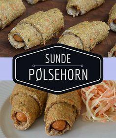 Fremragende pølsehorn, der ovenikøbet er sundere, fordi de er bagt med grøntsager og fuldkornsmel. Perfekt i madpakken, til frokost eller som en nem aftensmad.