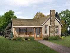 Country Ranch House Plan 49193 if added master suite..