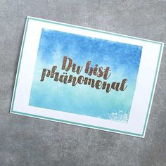 Stempeln mit Acrylblock 🤗 www.himmelsfee.de