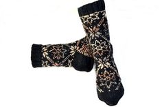 Sokker 38 - 39 Nye, Socks, Design, Fashion, Brown, Moda, Fashion Styles, Sock