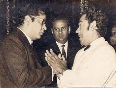 With Shammi Kapoor. Shammi Kapoor, Ashok Kumar, Kishore Kumar, Romantic Mood, Vintage Bollywood, Bollywood Stars, Film Industry, Pictures Of You, Historical Photos