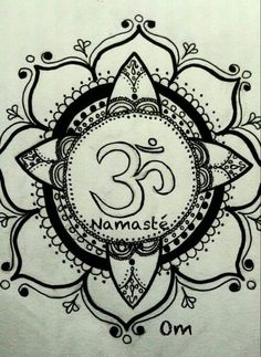 Namaste - Mandala tattoo idea