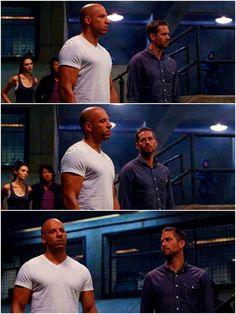 Paul Walker and Vin Diesel - FF6