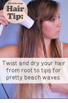 Fast And Easy No Heat Curls #Beauty #Trusper #Tip