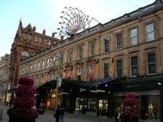 Princes Square, Buchanan Street, Glasgow designed by John Baird Facade only, gutted internally. Glasgow Scotland, Scotland Travel, Edinburgh, Art Nouveau, Art Deco, Glasgow Architecture, Buchanan Street, Prince, Places To Eat