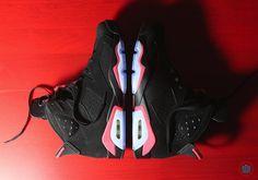 #AirJordan VI Black/Infrared #sneakers