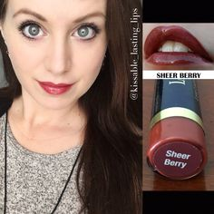 Sheer Berry LipSense  Glossy Gloss https://m.facebook.com/kissablelastinglips/ Instagram @kissable_lasting_lips All day Smudge-Proof Lipcolor!  Message me to order
