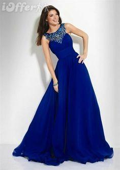 c74002894 Sapphire Bridesmaid dress from ioffer.com  royal-blue-floor-length-