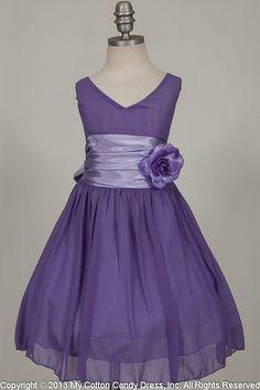 Flower Girl Lace Tutu Dress, Lavender, Purple, Size 2T-14, Wedding ...