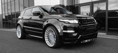#RangeRover Evoque by #Hamann 5 Door Widebody
