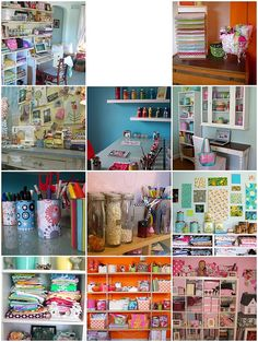 craftroom inspiration | 1. craft room 9.07, 2. Craft Rooms :… | Flickr