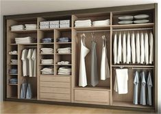 interior design closet arrangement idea