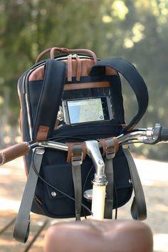 DUCKS IN A ROW|ハンドルに取付可能な自転車用多機能バックパック「ダックス・インアロー」【2016年6月以降】 - ガジェットの購入なら海外通販のRAKUNEW(ラクニュー)