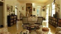 Living room in Hemingway's home @ Hemingway's  Cuba