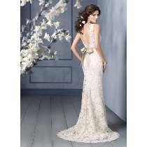 Vestido De Noiva - 36 38 40 - Pronta Entrega - Vn00163
