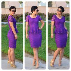 mimi g.: #DIY Lace Peplum Dress + Pattern & Fabric Giveaway + Review! S1650