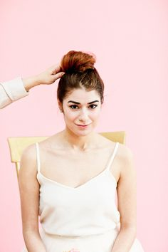 Beauty School: How to Create a Float-Worthy Top Knot | LaurenConrad.com