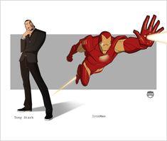IRONMAN - Tony Stark By Kizer