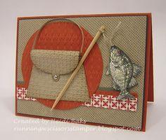 3-D Thursday: Gone Fishin'  by RunningwScissorsStamper