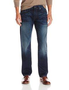 True Religion Mens Jeans Size 40 1/2 Ricky W Flap SE City HIGHLT NWT $248 #TrueReligion #ClassicStraightLeg