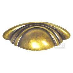 "Bosetti Marella - Antique Brass Dark - Bin Pull 2 1/2"" in Antique Brass Dark"