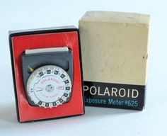 Vintage West German Made Polaroid Light Meter in by MagsandI