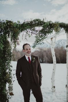 14c64725ee07 winter wedding inspiration in the mountains in Sun Valley, Idaho. by  christine marie photo