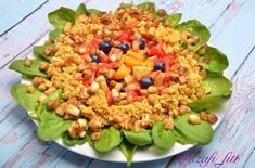 Your share text Fitt, Quinoa, Cantaloupe, Paleo, Food And Drink, Foods, Vegan, Vegetables, Food Food