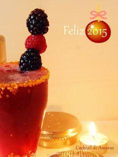 Cocktail de Amoras com sabor a Raspberry, Cocktail, Fruit, Ethnic Recipes, Food, Happy 2015, Blackberries, Recipes, Beverages
