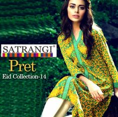 Satrangi Pret by Bonanza Ready to Wear Eid Collection - New Arrivals - She9 | Change the Life Style