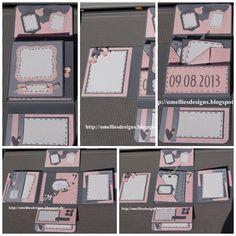 Stampin UP, Pink , Grey , Wedding Card , Hochzeitkarte, Zartrosa, Grau
