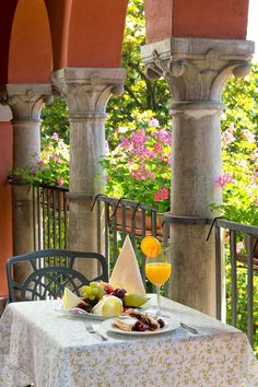 Breakfast on a balcony doesn't get any better than on the room balcony at #Hotel #SvetiJakov