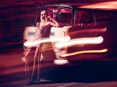 light pictures model shoot