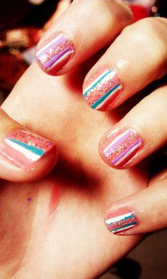 Summertime stripes! :)