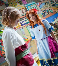 Link and Marin - Zelda Link's Awakening cosplay