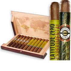 Latitude Zero Cigar Box Sampler   spiritedgifts.com