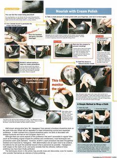 Shoe Care. How to polish your shoes. Man shoes. Pielęgnacja butów. Jak wypolerować buty. Buty mężczyzna.