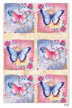 Vintage Butterflies Art Licensed to Studio E for Quilt Fabric Vintage Cards, Vintage Paper, Vintage Images, Vintage Butterfly, Butterfly Cards, Butterfly Quilt, Butterfly Painting, Decoupage Printables, Decoupage Vintage
