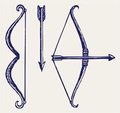 Bow And Arrow Vector Art 155240133
