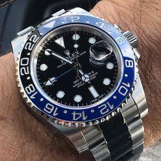 Rolex GMT Master #batman 305-377-3335 www.diamondclubmiami.com #watches #patek #luxurywatch #dailywatch #watchesofig #watchesofinstagram #watchoftheday #watchmania #hermes #watchporn #timepiece #rolex #bracelets #richardmille #wristporn #highend #iwc #watchesph #mensaccessories #breitling #louisvuitton #chronograph #goyard #swissmade photo by @sportwatchmania