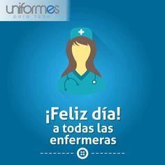 Tu labor es muy valiosa, gracias por dar tu amor y servicio a la humanidad. ¡Feliz día enfermeras! #UniformesparaTodo #enfermera