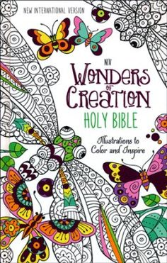 NIV Wonders of Creation Holy Bible, hardcover  -