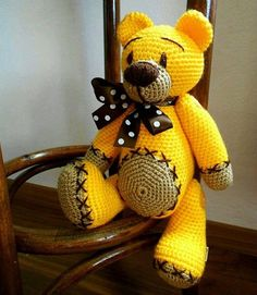 Knitted toys – 20pics ideas | PicturesCrafts.com