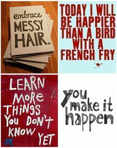 quotes collage