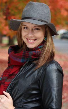 Central Park Wool Felt Floppy Fedora. This season's most popular hat shape for the Boho girl on the go.