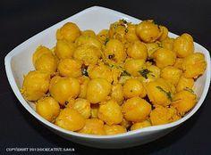 Chundal/sundal recipes for navaratri.